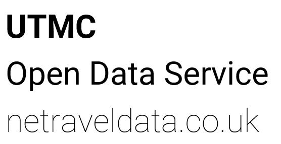UTMC OPEN DATA SERVICE