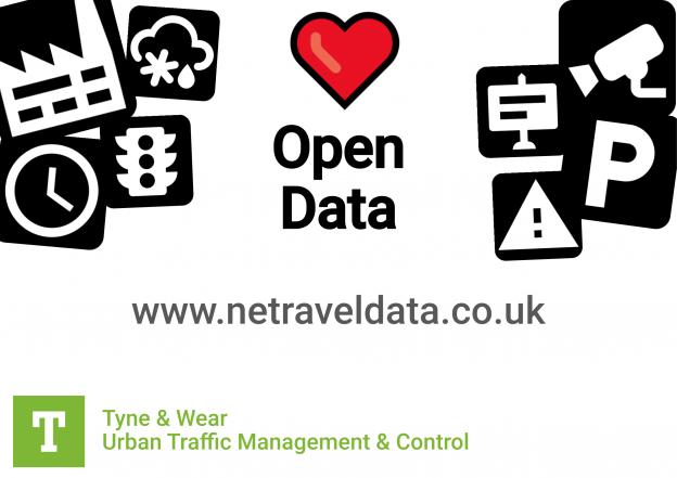 Open Data Service   Tyne & Wear Urban Traffic Management and